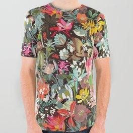 Floral maximalism All Over Graphic Tee