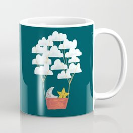 Hot cloud baloon - moon and star Coffee Mug