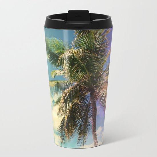 Prismatic Palm Metal Travel Mug