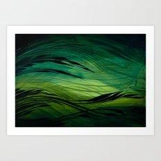 Ravine Art Print