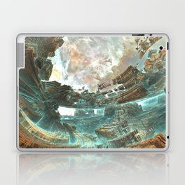 Aqua Space Shipyard Laptop & iPad Skin