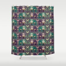 Sloth pattern Shower Curtain
