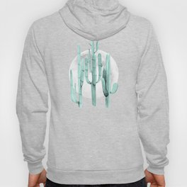 Cactus Nights Full Moon Starry Sky Sage by Nature Magick Hoody