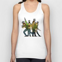supernatural Tank Tops featuring Supernatural by Justyna Rerak