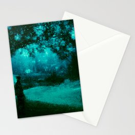 At The End of The Journey is The Green Forest Clearing Stationery Cards