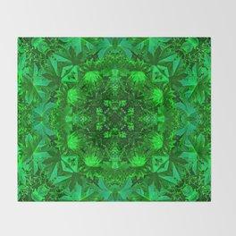 Archangel Raphael Healing Mandala Throw Blanket