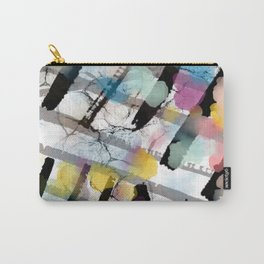 ABSTRACT SQUARES Carry-All Pouch