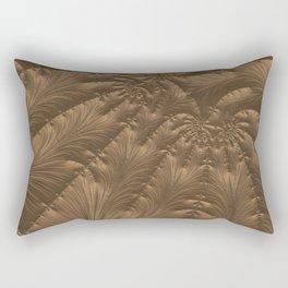 Renaissance Brown Rectangular Pillow