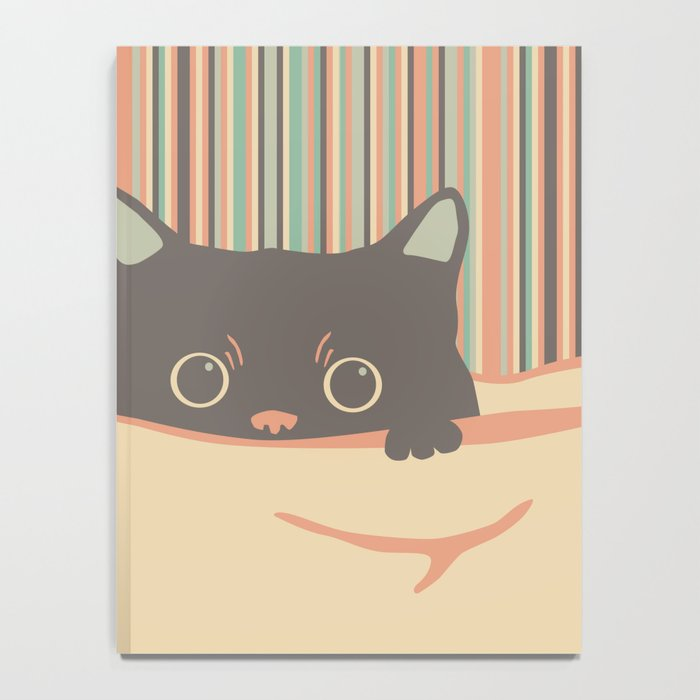 Kitty in the blanket Notebook