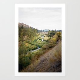 SPOKANE SEPTEMBER Art Print