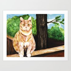 Senior Portrait Art Print