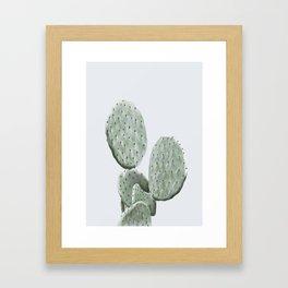 barbery fig - grey Framed Art Print
