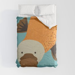 Whimsy Platypus Comforters