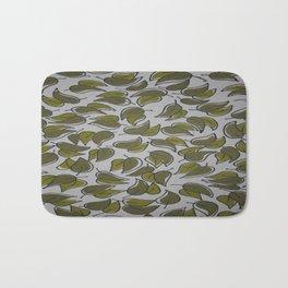 Leaves - Pattern Design - Wild Veda Bath Mat