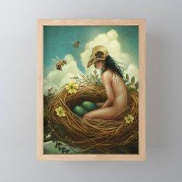 The Nest Framed Mini Art Print
