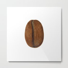 Coffee Bean Metal Print