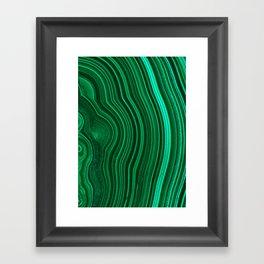 Malachite no. 2 Framed Art Print