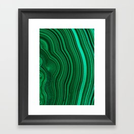 Malachite no. 2 Framed Art Print