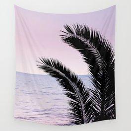 Palm & Ocean Dream #1 #tropical #pastel #wall #decor #art #society6 Wall Tapestry