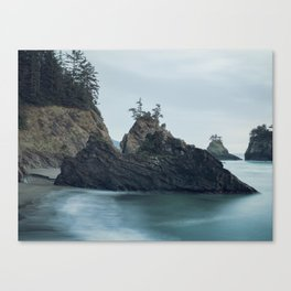 Sunset at Secret Beach Canvas Print