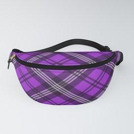 Scottish Plaid-Purple Fanny Pack