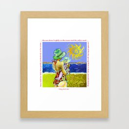 'Mary and Max' (Saw Sea Art Series) Framed Art Print