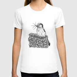 Long-tailed tit - Aegithalos caudatus T-shirt