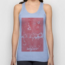 Lick The Surface Unisex Tank Top