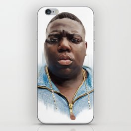 Biggie iPhone Skin