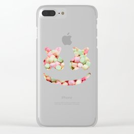 Mello Marshmallow Clear iPhone Case