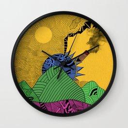 Summer Calling Wall Clock