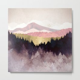 Plum Forest Metal Print