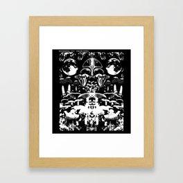 Moonmadness Framed Art Print