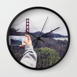 Pocket shot Wall Clock