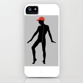 Male Nude Noir 03 iPhone Case