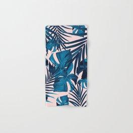 Tropical Jungle Leaves Pattern #6 #tropical #decor #art #society6 Hand & Bath Towel