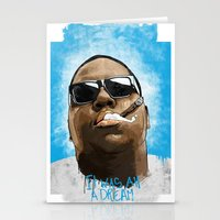 biggie Stationery Cards featuring Biggie by K▽nchʁLϟ