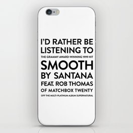 Smooth iPhone Skin