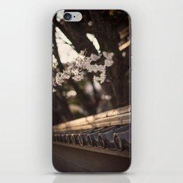 Sakura in Kyoto, Higashiyama 2015 iPhone Skin