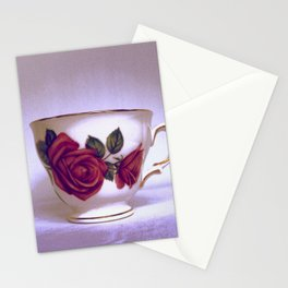 Rose Tea Stationery Cards