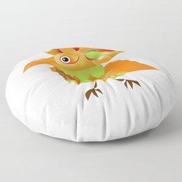 Bird-of-paradise Floor Pillow