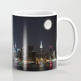 New York Supermoon Coffee Mug