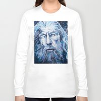 courage Long Sleeve T-shirts featuring Courage by Maria Bruggeman