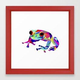 Freddy Frog Framed Art Print