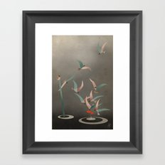 The Red Fish Framed Art Print