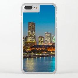 YOKOHAMA 04 Clear iPhone Case