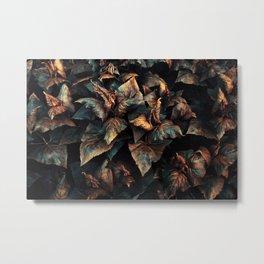 Leaves 001 Metal Print