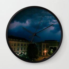 Fargo Storms Wall Clock