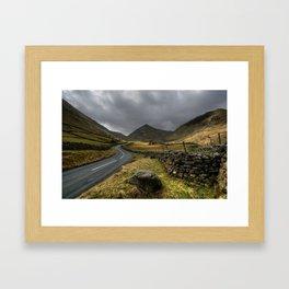 The View back to Ullswater  Framed Art Print