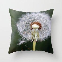 Dandelion seeds3 Throw Pillow